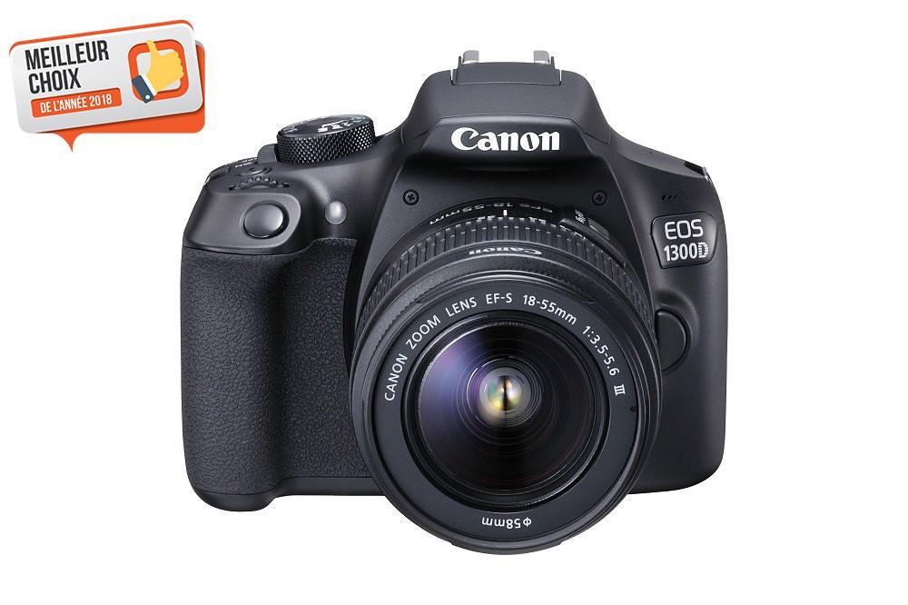 meilleur appareil photo numérique Canon EOS 1300D