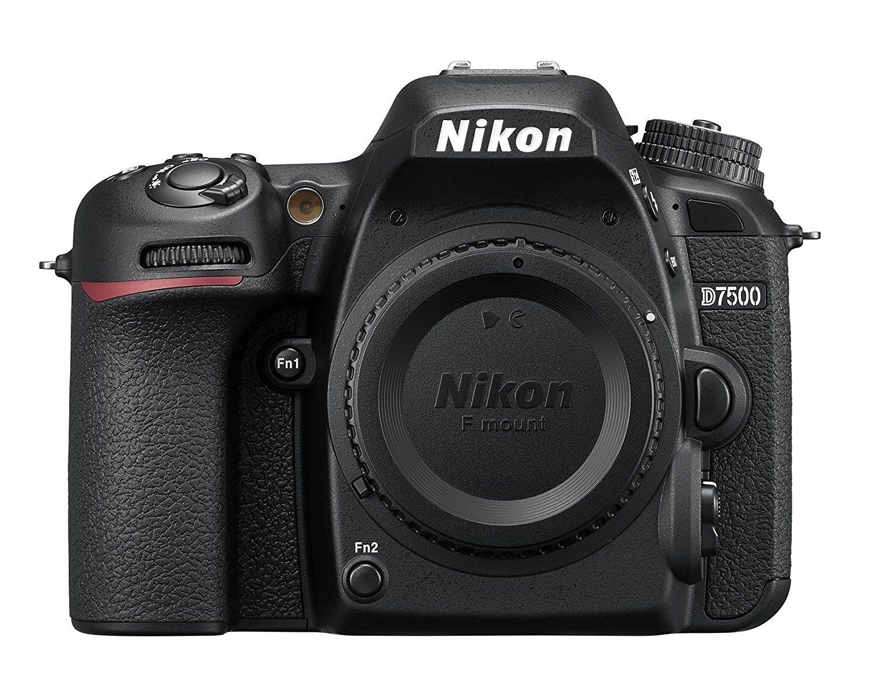 meilleur appareil photo reflex Nikon D7500