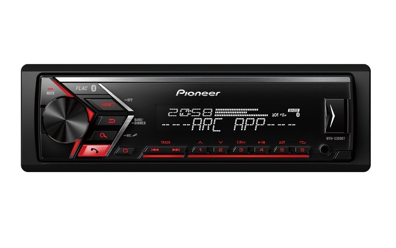 Pioneer car multimedia mvh s300bt