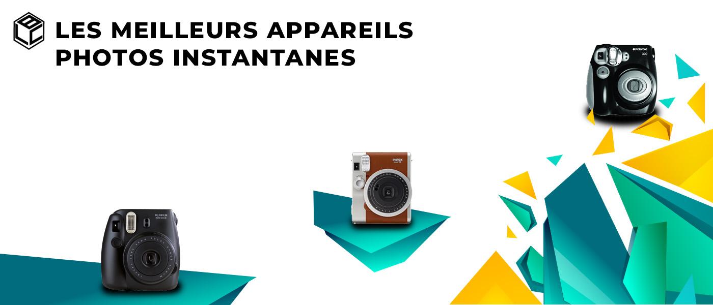 comparatif appareils photos instantanés