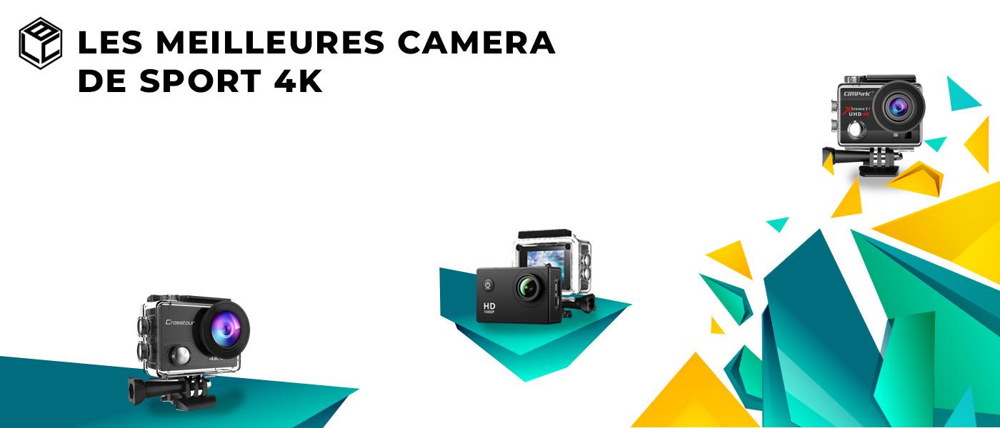 meilleur caméra sport 4k