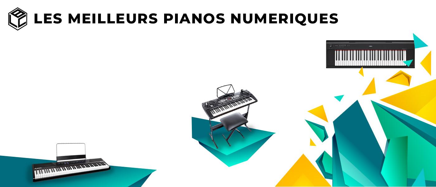 meilleur piano numerique