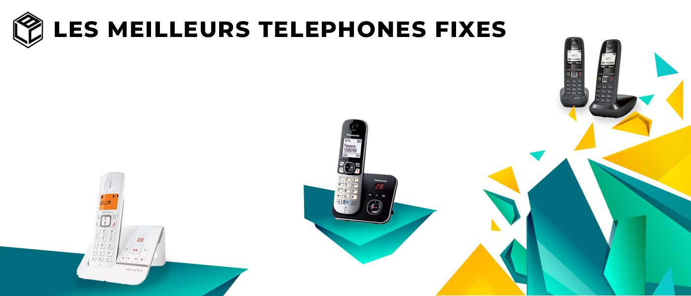 meilleurs telephones fixes