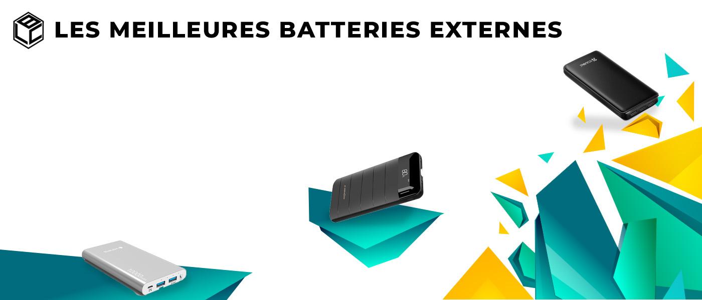 meilleure batterie externe