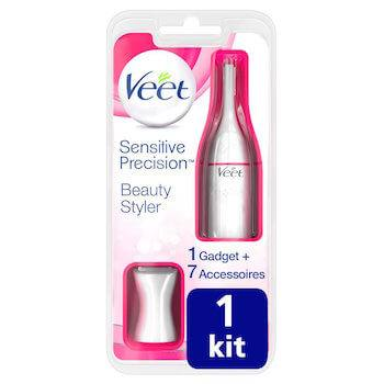 coffret épilateur visage veet sensitive