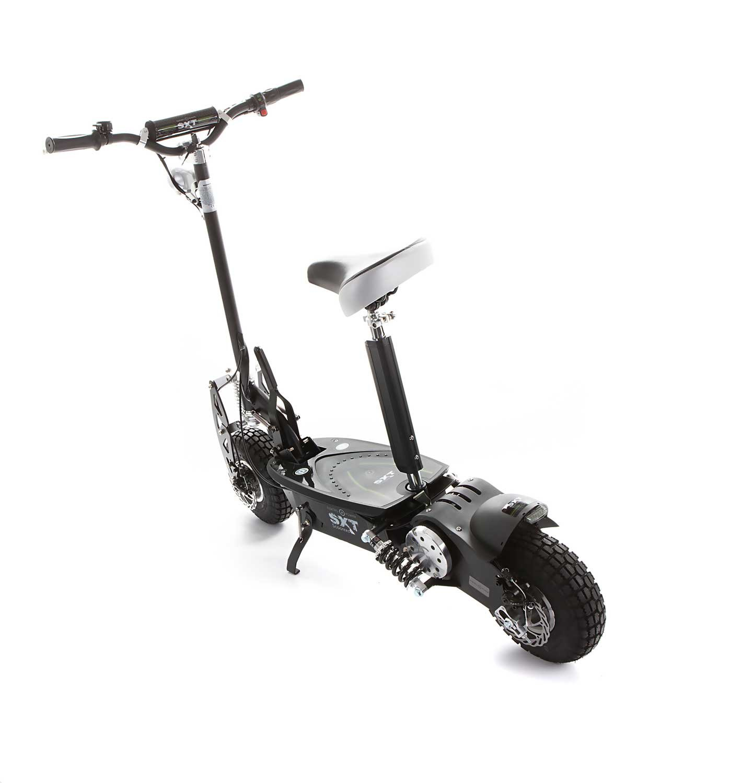 Vue arrière de la trottinette électrique SXT Scooters 1000