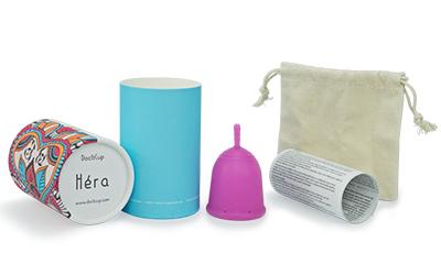 coupe menstruelle docticup et ses accessoires